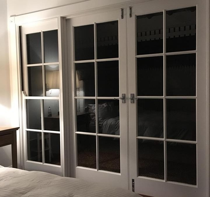 Traditional French Door Installation